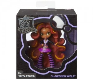 Monster High Winylowe figurki Clawdeen Wolf