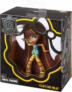 MONSTER HIGH CLEO DE NILE Winylowa figurka VINYL